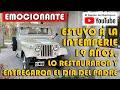 Emoción En El Día Del Padre, Después De 19 Años Le Entregaron Su Jeep Restaurado Guillermo Zamaro