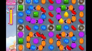 Candy Crush Saga level 878 (3 star, No boosters)