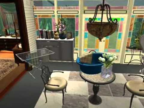 sims 2 charmed halliwell manor - youtube