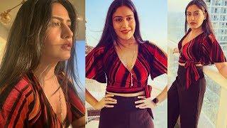 Surbhi Chandna Hot At Star Plus New Serial Ek Bhram Sarvagun Sampanna Launch