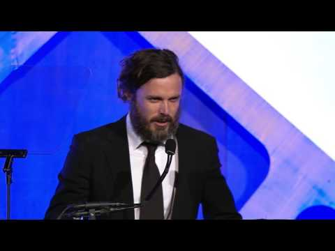 Thumbnail: Casey Affleck winning the 2016 IFP Gotham Award for Best Actor for MANCHESTER BY THE SEA