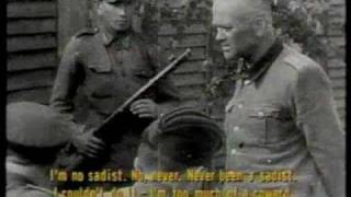 Repeat youtube video Ben Ferencz on Waffen SS