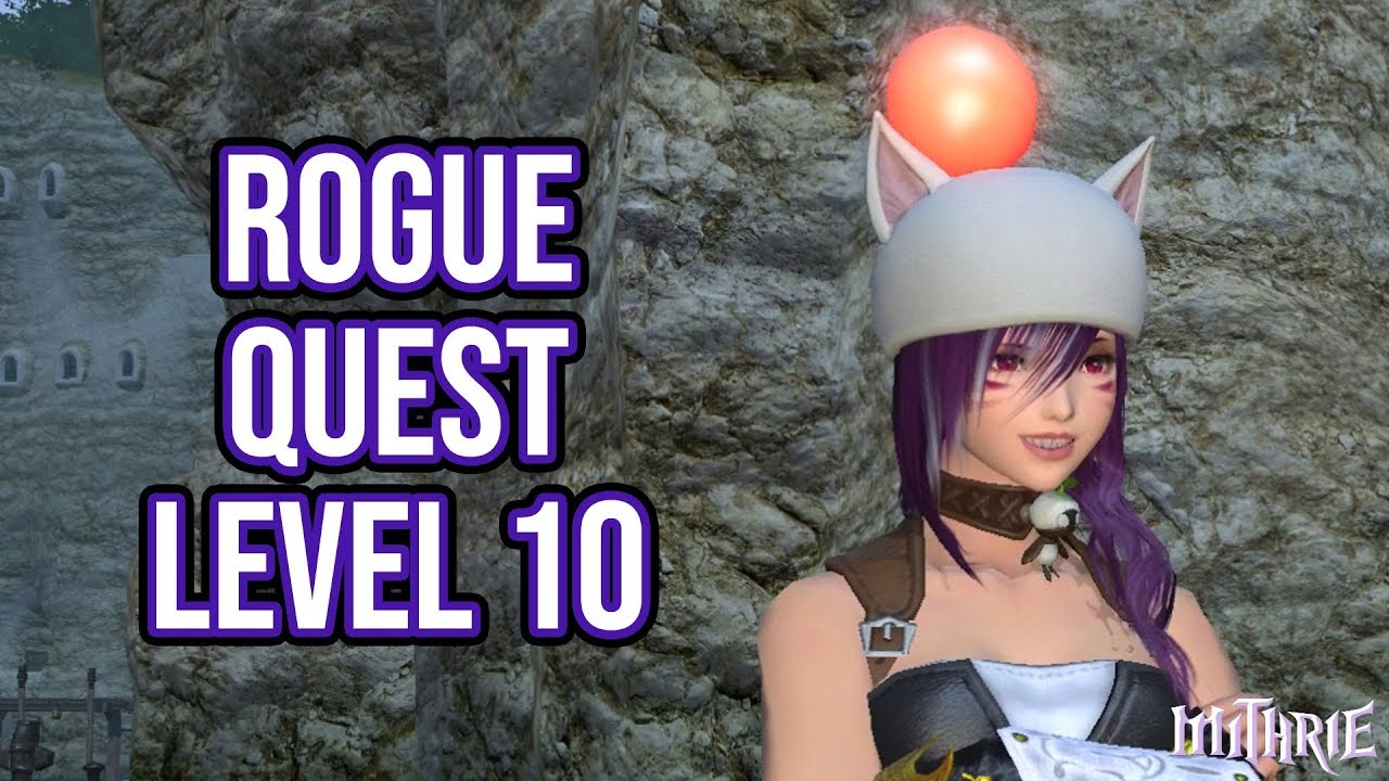 Rogue hunting log rank 1 - Ffxiv 2 4 0426 Rogue Quest Level 10