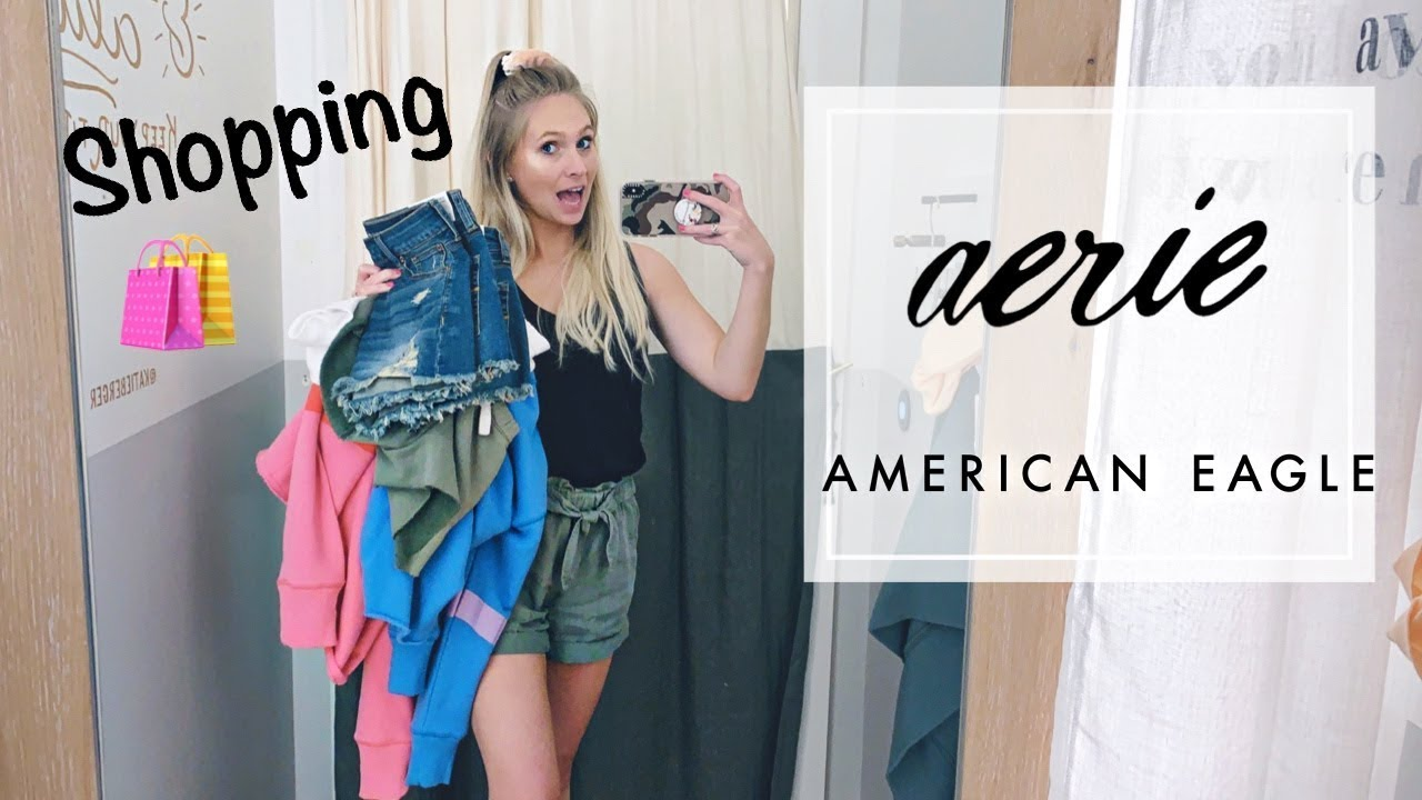 Aerie Try On Haul Summer Cute Cozy Youtube