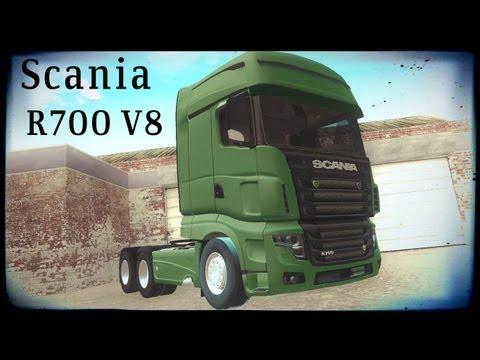 Scania Euro 5 R700 V8