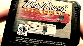 Classic Game Room - TEST DRIVE II: THE DUEL review for Sega Genesis