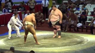Сумо .Чемпионат мира по Сумо 2014 (Byamba vs GEO)