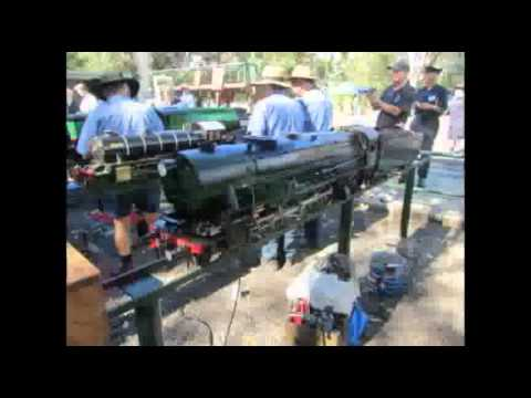 2011 AALS Convention at Lake Macquarie Live Steam  Locomotive Society