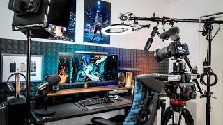 My DREAM YouTube Studio Setup Tour - How I Make My Videos!