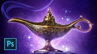 Aladdin Movie Poster Tutorial