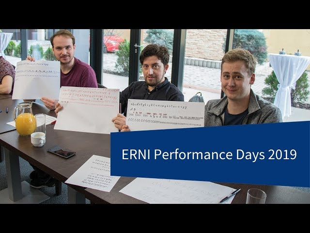 Learning, Networking and Fun at Performance days 2019 | ERNI | Swiss Software Engineering