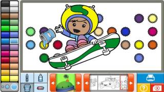 Team Umizoomi Coloring Book - Full English  (2015) Team Umizoomi full episode Coloring Game