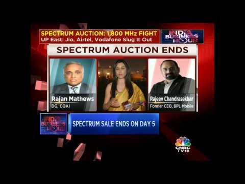 Spectrum Auction Ends