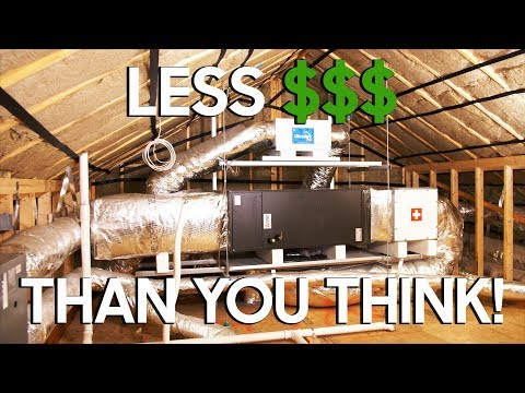 New BUILD : Excellent Air Conditioning System Cost?  I'll Tell You!