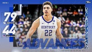 Kentucky vs. Abilene Christian:  First Round NCAA Tournament extended highlights