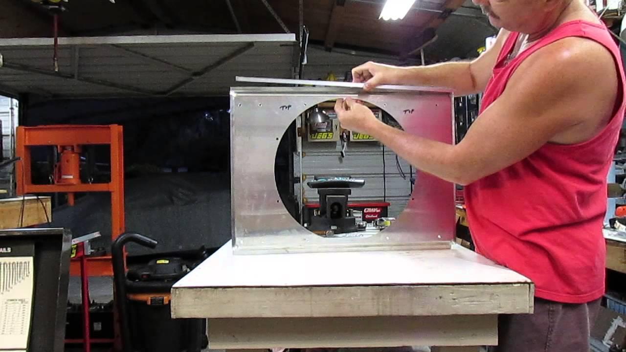 Building A Custom Made Fan Shroud For Dual 11 Inch Spal