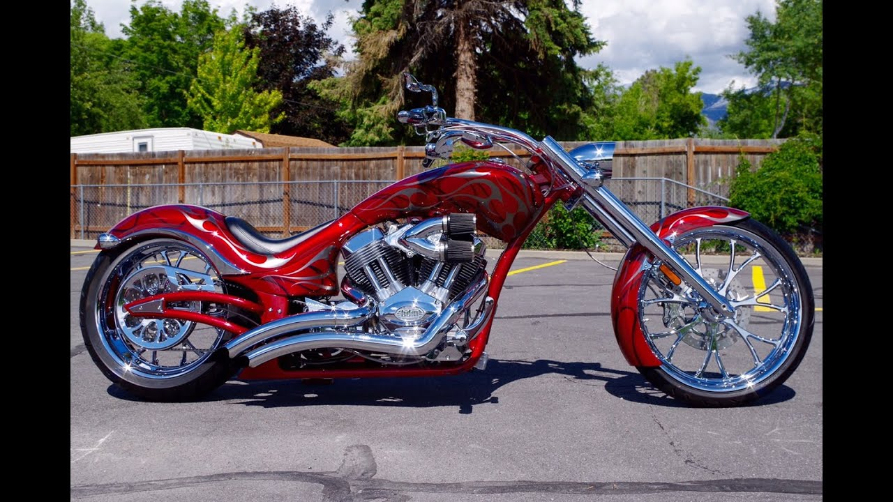custom softail motorcycle frames. FOR SALE 2009 Big Dog Wolf Softail Custom Pro-Street Chopper Motorcycle RED With FLAMES VERY RARE! - YouTube Frames L