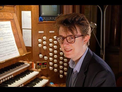 James Anderson-Besant: our new Junior Organ Scholar