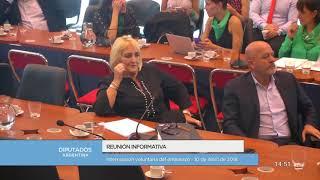 Reunión informativa sobre la interrupción voluntaria del embarazo 02/11