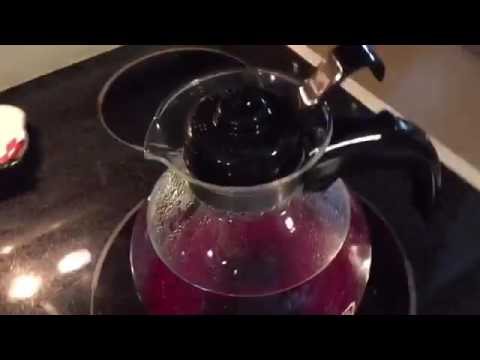 Glass Stovetop Whistling Kettle