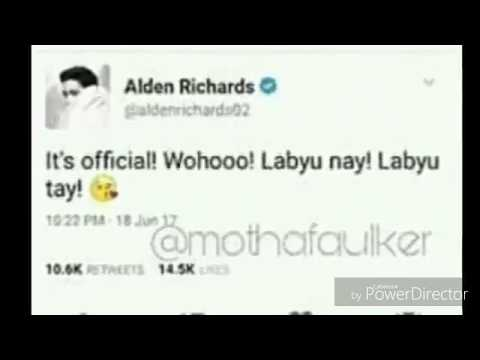 Maine Mendoza and Alden Richard are now official