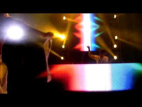 Arno Cost Live @ Belgrade Foam Fest 2012 Ellie Goulding - Lights (Feenixpawl Bootleg)
