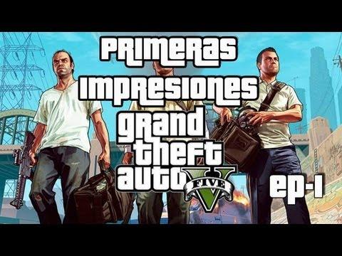 Jugando GTA 5: Primeras impresiones de este épico juego ( Gameplay Xbox360)