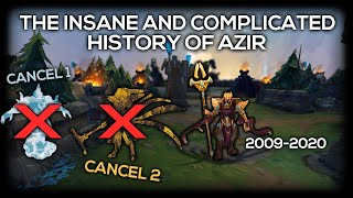 League Of Legends Champion Who Was Cancelled Twice! | Azir Documentary Season 10 League of Legends