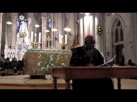 Enseignement du Cardinal Sarah au sanctuaire Notre-Dame de Montligeon - Quinzaine du Ciel 2013