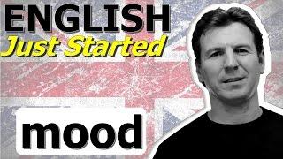 Английский для начинающих - mood - настроение