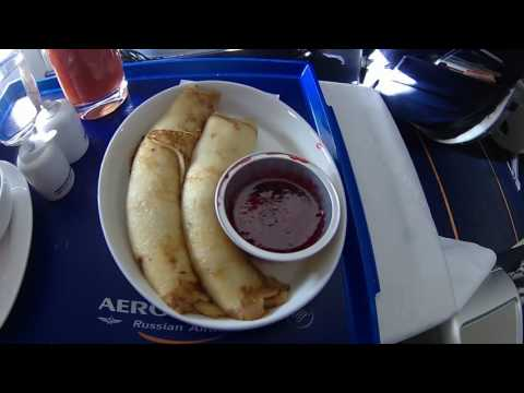 Sukhoi Superjet SSJ 100 Business class from Moscow to Sofia (Aeroflot)