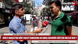 Irak'ta Kürdistan Devleti Kurulmasına Halk Ne Diyor ? (İstanbul-Şirinevler)