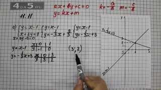 Упражнение 11.11. Вариант А. Алгебра 7 класс Мордкович А.Г.