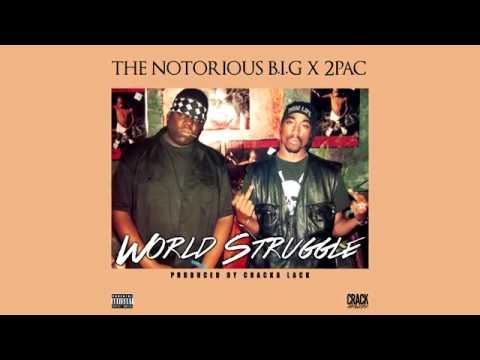 The Notorious B I G & 2Pac - World Struggle (Prod  by Cracka