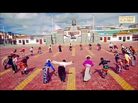 Tibetan circle dance ( མགོ་ལོག་སྐོར་བྲོ། ) 2015 [ 07 ]