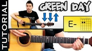 Boulevard of Broken Dreams GREEN DAY GUITARRA TUTORIAL Acordes GREEN DAY Como tocar
