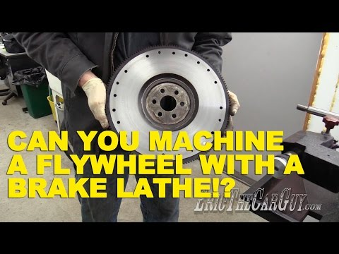 Can You Machine A Flywheel With A Brake Lathe??