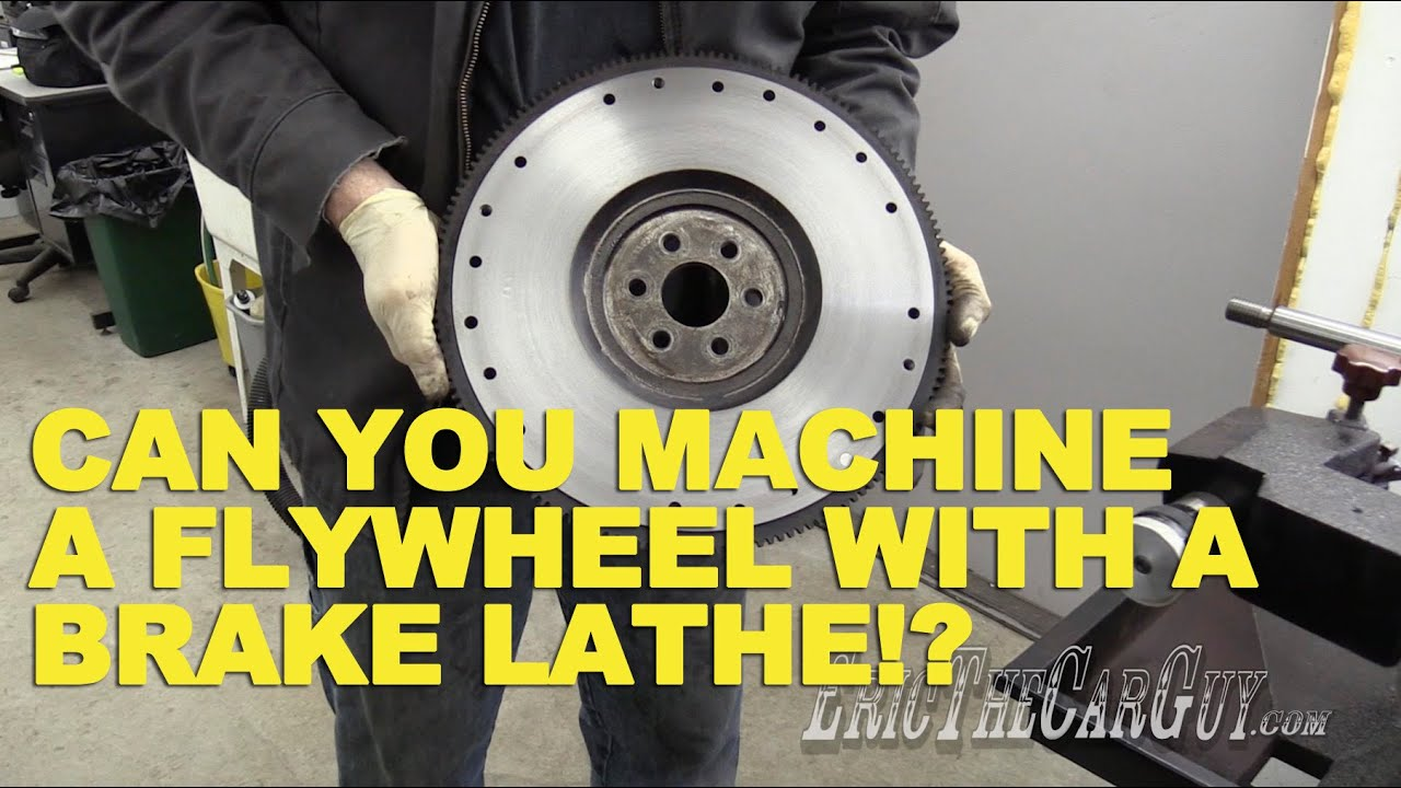 Ammco Brake Lathe >> Can You Machine a Flywheel with a Brake Lathe?? - YouTube