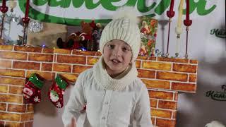 """Крупник Дамір соліст зразкової вокальної студії """"Камелія"""" """"Зима=зима"""""""
