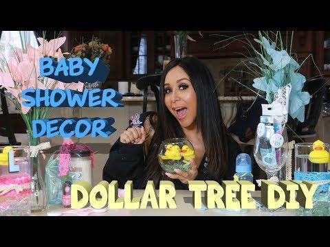 SNOOKI'S DOLLAR TREE DIY BABY SHOWER DECOR