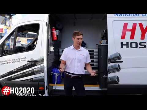 Hydraquip Hydraulic Hose Mobile Service Vans #hq2020