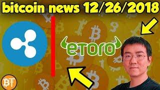 XRP And ETORO Drama, Bitcoin Going To 1,300$, Bitmain Goes Bankrupt?