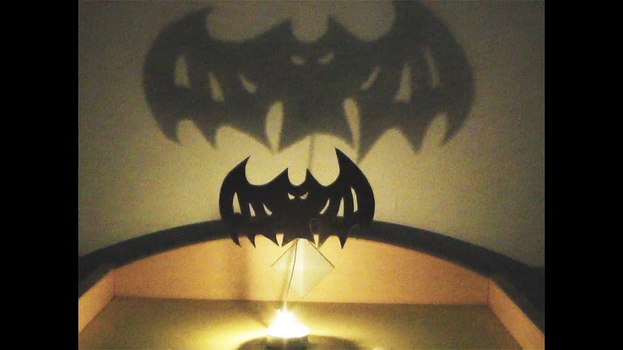 Manualidades para halloween sombras tenebrosas - Adornos de halloween para hacer en casa ...