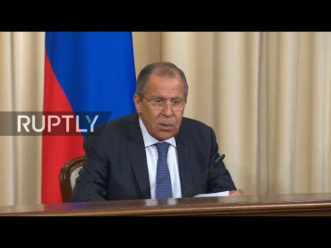 LIVE: Lavrov and Medoyev meet in Moscow - Press conference