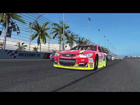NASCAR Heat Mobile Launch Trailer