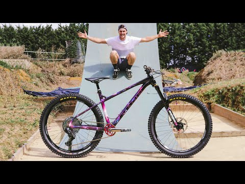 THE NEW CUSTOM DREAM BIKE BUILD IS COMPLETE AND GETS RIDDEN!!