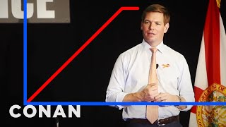 Eric Swalwell's Approval Rating Is On The Rise - CONAN on TBS