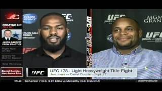 Jon Jones And Daniel Cormier React To Media Brawl L VE On Sportscenter 8414