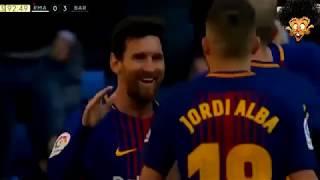 ملخص واهداف مباراة برشلونة وريال مدريد 3-0 طرد كارفخال وتألق ميسى و جنون الشوالى - 23/12/2017