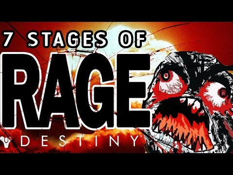 THE 7 STAGES OF RAGE!!! (NSFW) Destiny - Trials (RAGE) Of Osiris
